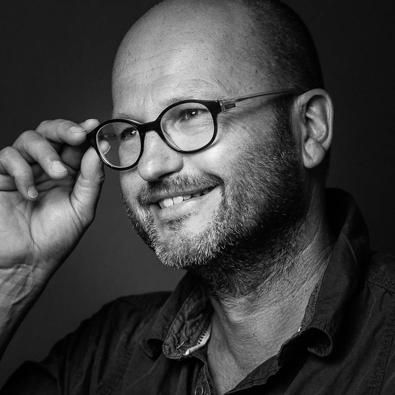 portretfotograaf Rianne Noordegraaf portret zwart wit