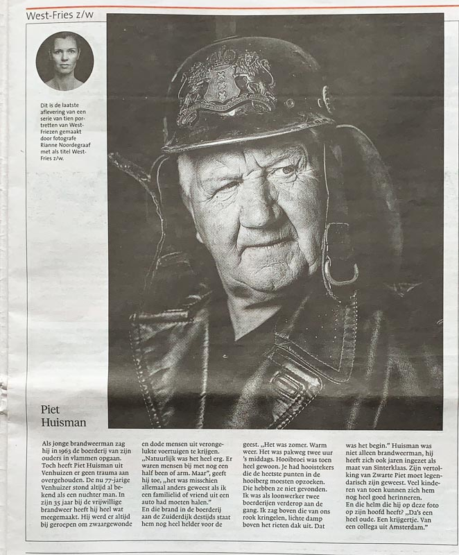 Noordhollands Dagblad portret westfries door Rianne Noordegraaf fotograaf
