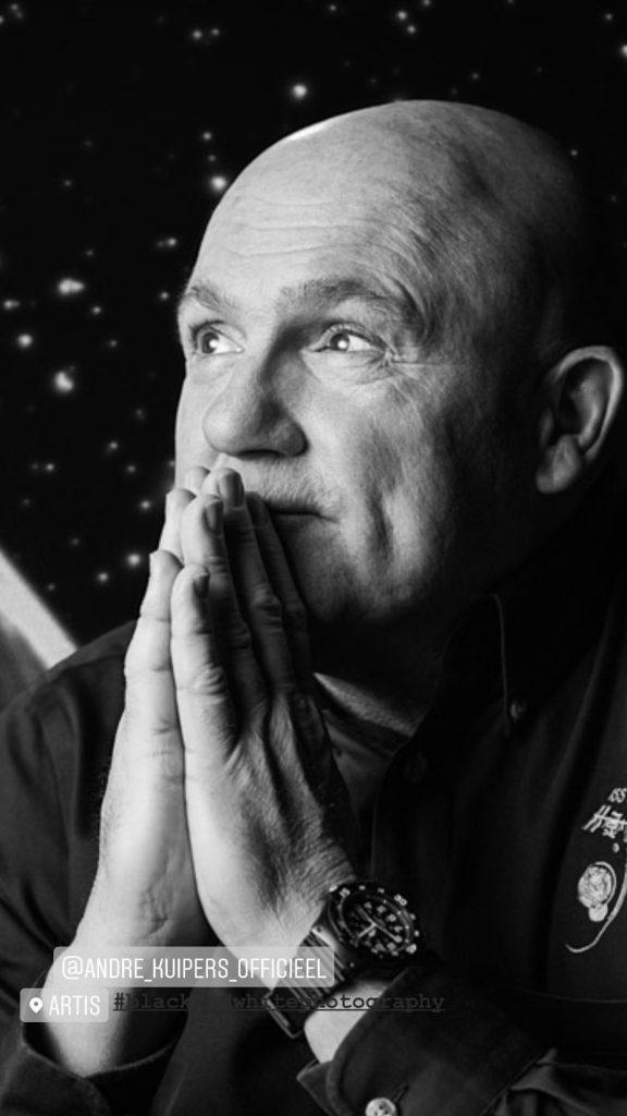 Andre Kuipers portret door Rianne Noordegraaf Fotografie